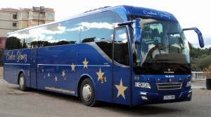Autobús con 60 plazas