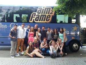 AIM2FAME y Autobuses Carlos Gómez