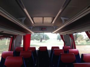 Interior de nuestros autobuses