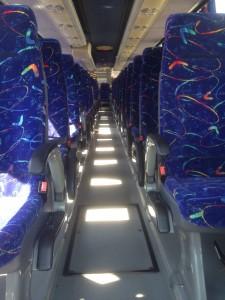 Limpieza interior de nuestros autobuses
